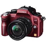 パナソニック デジタル一眼カメラ GH1 レンズキット コンフォートレッド DMC-GH1A-R