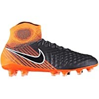 Official Nike Magista Obra 2 Elite Firm Ground Football Boots Mens Grey Soccer Cleats