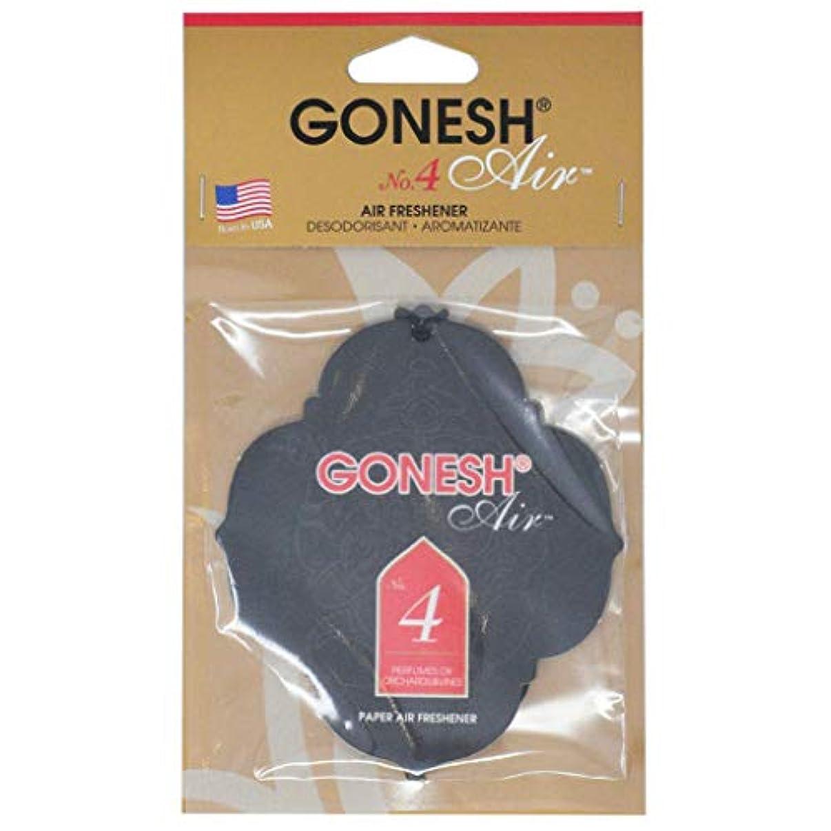 考え人気ノートGONESH(ガーネッシュ) GONESHペ-パ-エアフレッシュナ- No.4 96mm×3mm×170mm