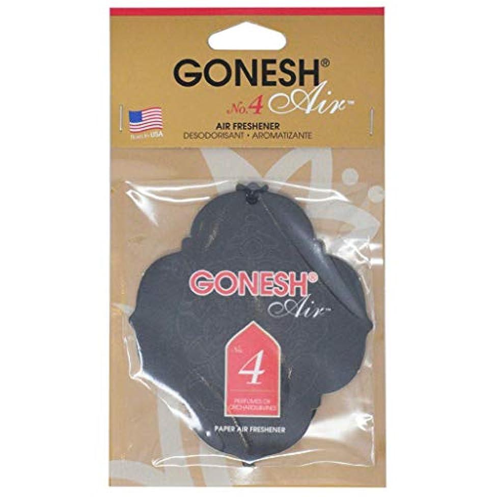 パニックスラム忍耐GONESH(ガーネッシュ) GONESHペ-パ-エアフレッシュナ- No.4 96mm×3mm×170mm