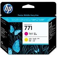 フルのセット純正HP 771Printheads & Cleaners–Noインク含ま