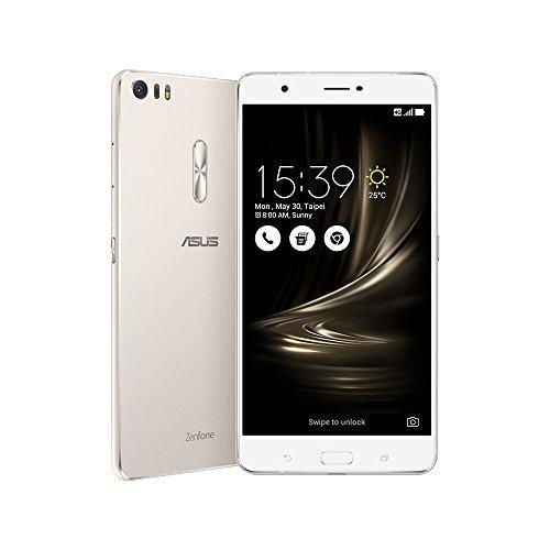 ASUS エイスース ZenFone 3 Ultra シルバー ZU680KL (SIMフリー 4GB 64GB) [並行輸入品]