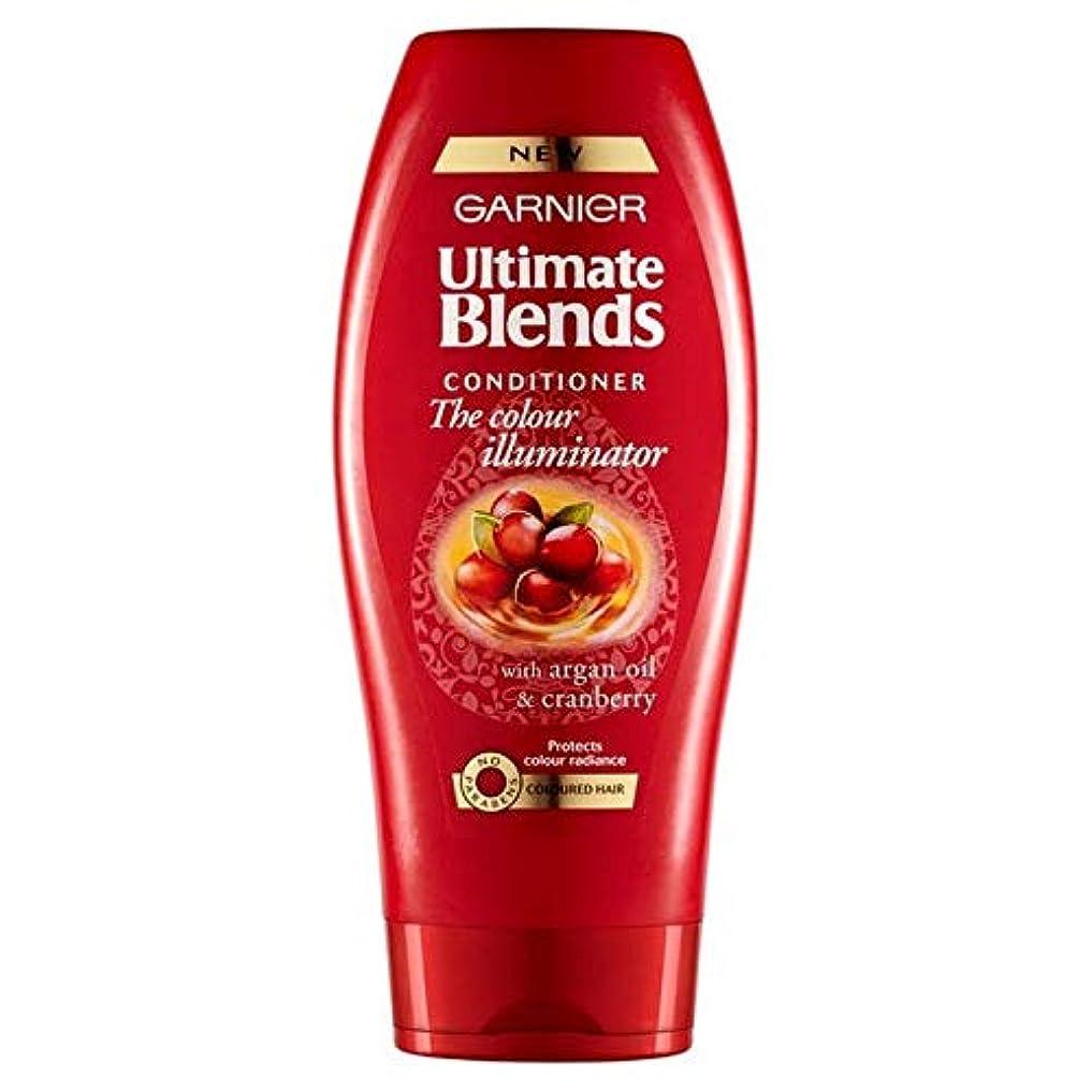 スムーズにおなじみの場所[Garnier ] ガルニエ究極は、アルガンオイル色の髪のコンディショナー360ミリリットルをブレンド - Garnier Ultimate Blends Argan Oil Coloured Hair Conditioner...