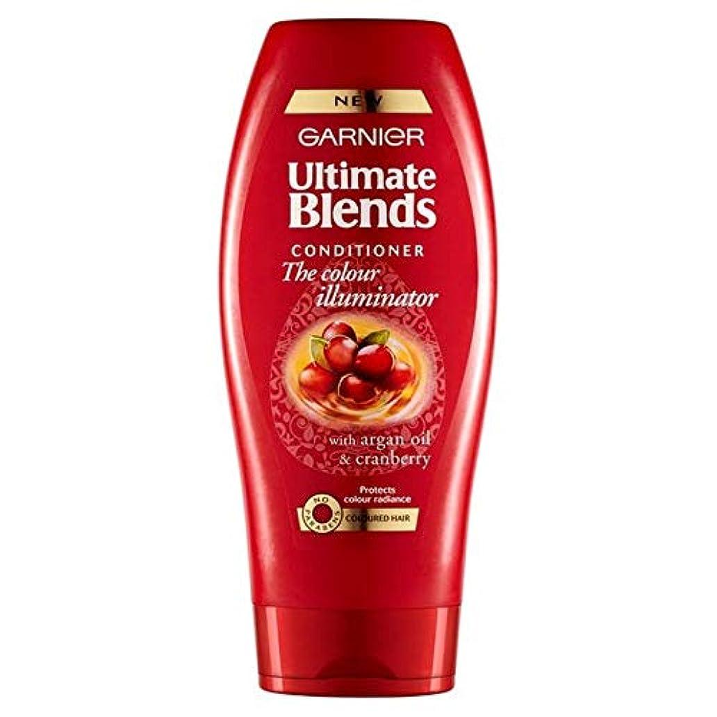 眉をひそめる消毒するシティ[Garnier ] ガルニエ究極は、アルガンオイル色の髪のコンディショナー360ミリリットルをブレンド - Garnier Ultimate Blends Argan Oil Coloured Hair Conditioner...