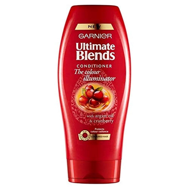 慎重に事実上チャーム[Garnier ] ガルニエ究極は、アルガンオイル色の髪のコンディショナー360ミリリットルをブレンド - Garnier Ultimate Blends Argan Oil Coloured Hair Conditioner...