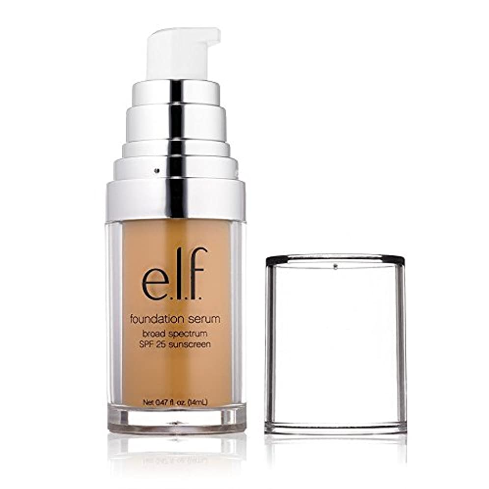 日付称賛バイバイ(3 Pack) e.l.f. Beautifully Bare Foundation Serum - Medium/Dark (並行輸入品)