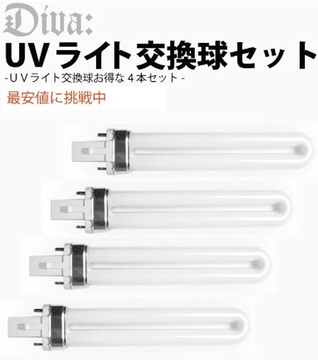 稼ぐ修正作成者UVライト36W 交換ライト ランプ 4本セット