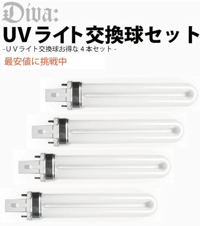 透ける交通渋滞半円UVライト36W 交換ライト ランプ 4本セット