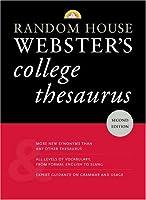 Random House Webster's College Thesaurus