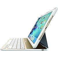 belkin ベルキン 9.7インチ iPad Pro /iPad Air 2対応 QODE Ultimate Lite キーボードケース(ホワイト/ゴールド) F5L192QEWGW