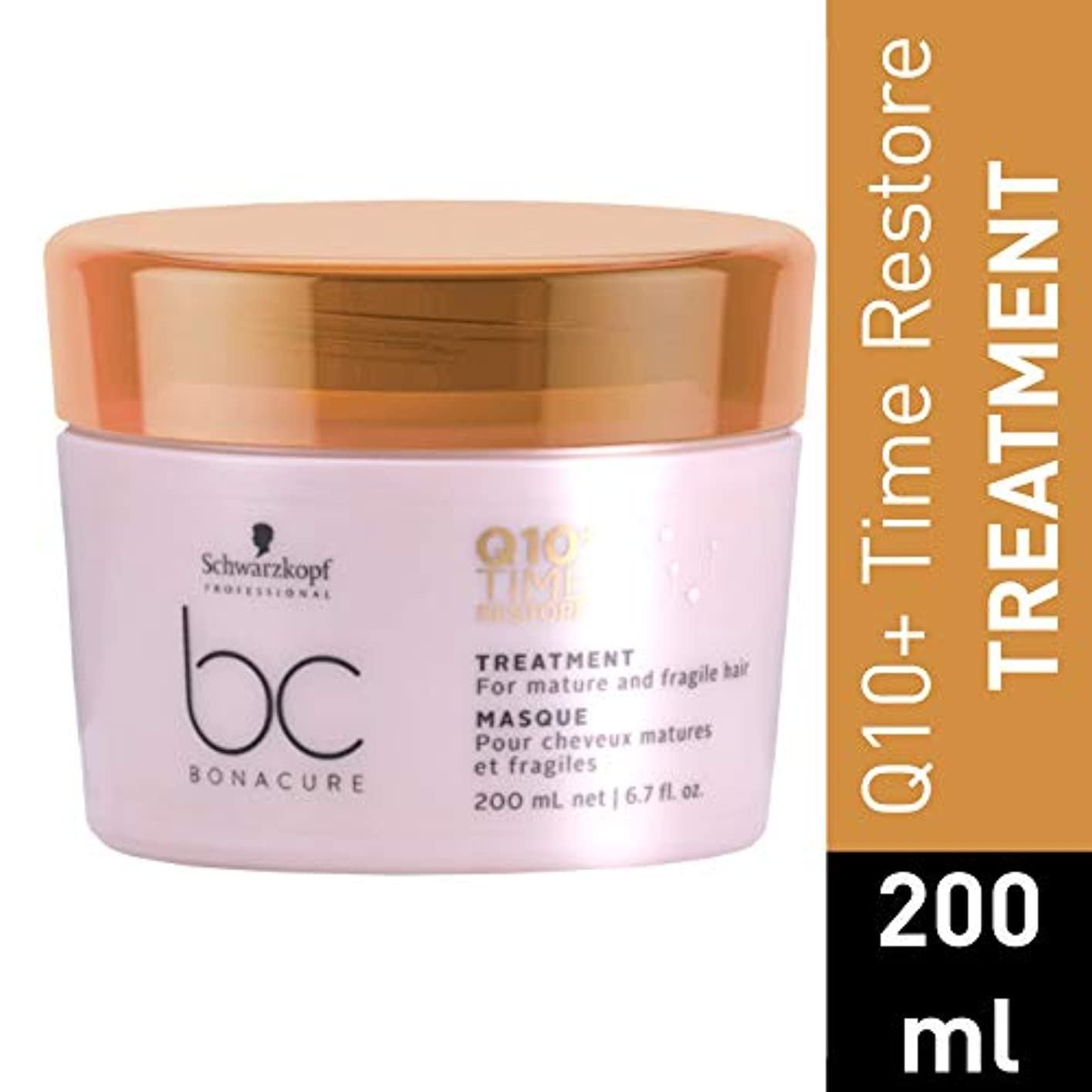 トラフィックうつ雇用シュワルツコフ BC Bonacure Q10+ Time Restore Treatment (For Mature and Fragile Hair) 200ml/6.7oz並行輸入品