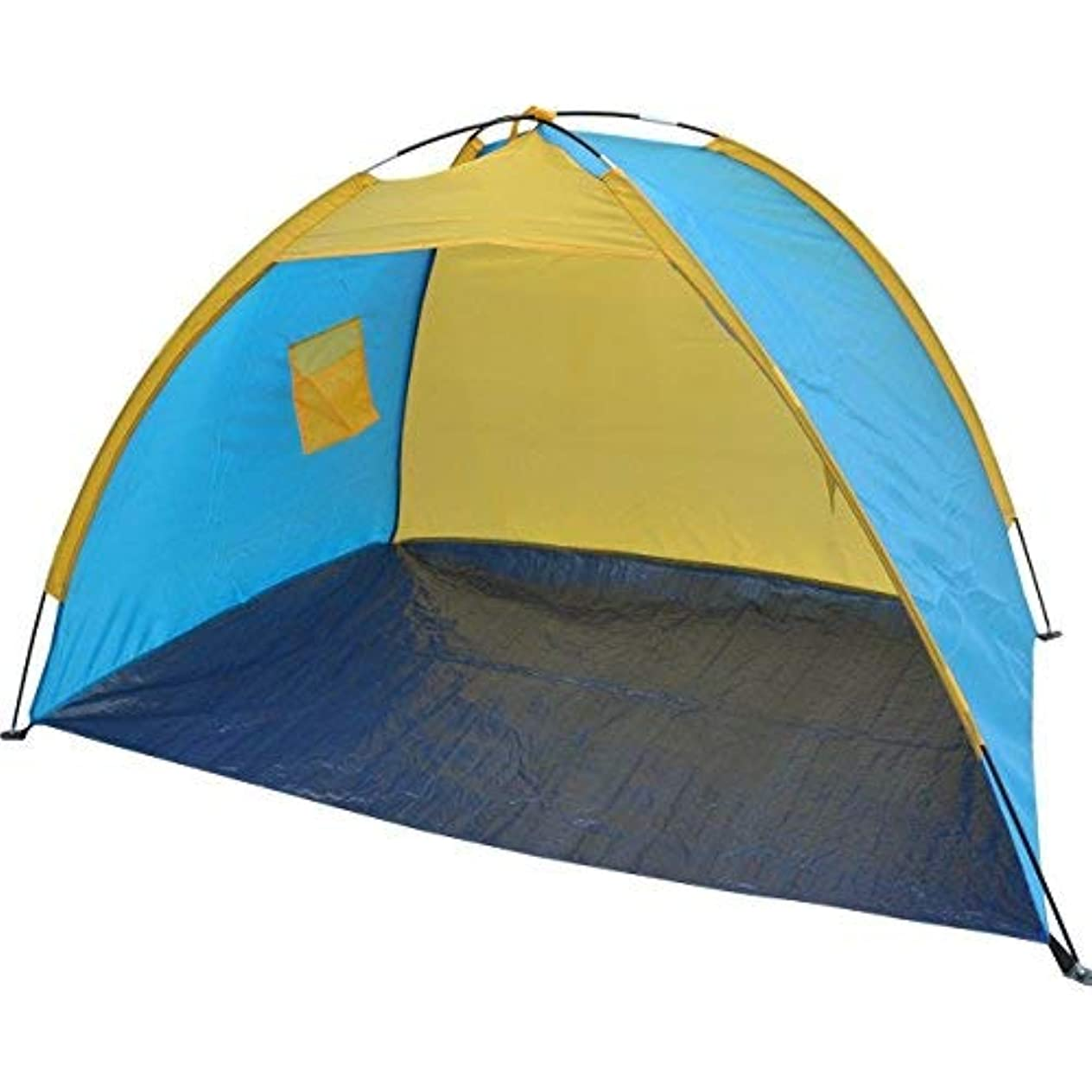 息を切らして集めるルートBenefitUSA K2-8229 Beach, Tent(テント), shelter, Camping, Light Blue with Yellow [並行輸入品]