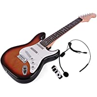 Guitar for Kids, Yamix 6 Strings Rock Band Music Electric Guitar Band Musical Guitar Playthings Rock Star Guitar Kids Musical Instruments Educational Toy