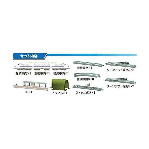 レック N700系新幹線 鉄橋 レールセット ...の紹介画像3