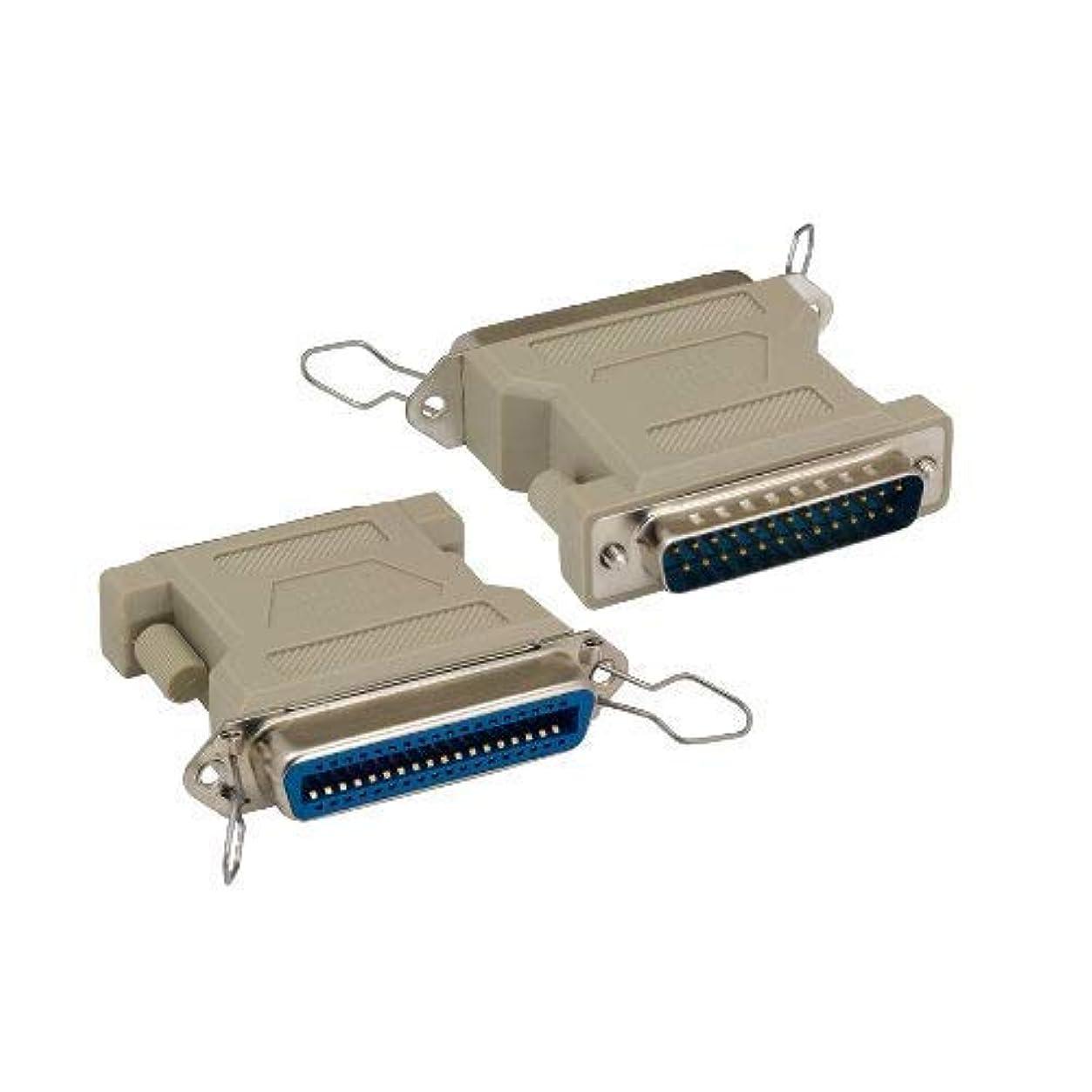 コンソール放課後複雑なKentek DB25 25ピンオスからCN36 36ピンメス オスからメス M/F 成形 セントロニクス パラレルプリンターアダプター ジェンダーチェンジャー カプラー RS-232 SCSI