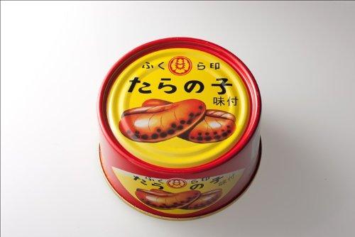 ふくら印 たらの子 味付 缶詰 170g T2缶24缶入