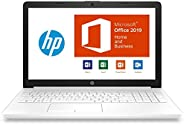 【MS Office Home and Business/SSD搭載】HP 15-db1000 Windows10 Home 64bit AMD Ryzen5 8GB SSD 128GB + 1TB HDD DVDライタ