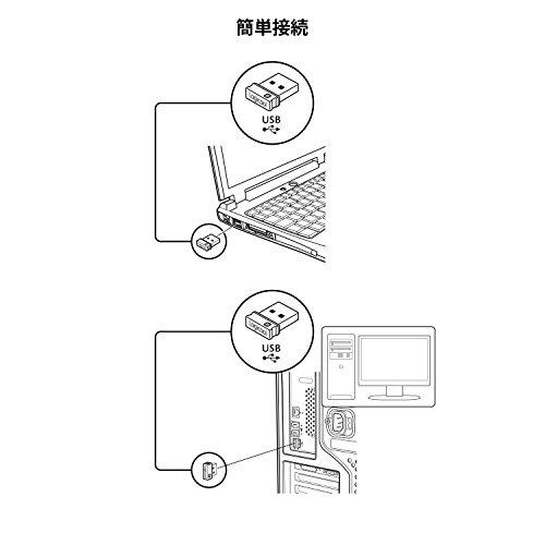 Logicool ロジクール フルサイズ 薄型 ワイヤレスキーボード テンキー付 耐水 静音設計 USB接続 3年間無償保証ボード Unifying対応レシーバー採用 K270 ロジクール