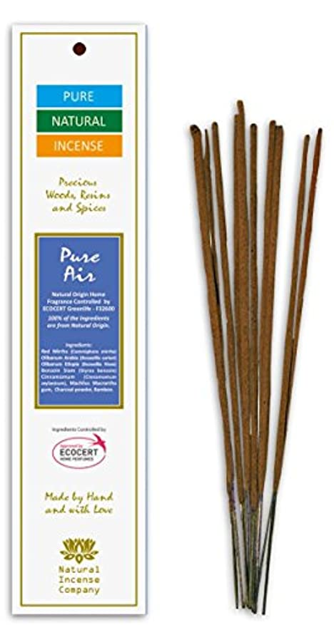作詞家征服者退屈なPure Air – Pure & Natural Incense – 10 Sticks – Natural Incense会社