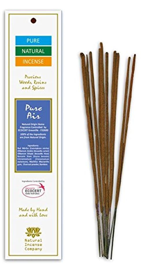 志す再発するニコチンPure Air – Pure & Natural Incense – 10 Sticks – Natural Incense会社