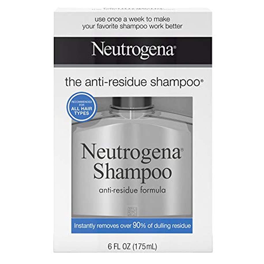 うなずくぴかぴか心理的海外直送品Neutrogena Neutrogena Anti-Residue Shampoo, 6 oz (Pack of 6)