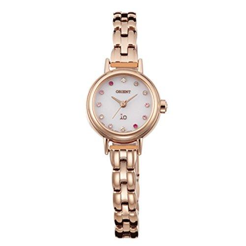 オリエント ORIENT イオ iO ソーラー クオーツ レディース 腕時計 WI0411WD ホワイト 国内正規