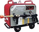 TRUSCO スーパー工業 ガソリンエンジン式 高圧洗浄機 SEV-2108SS(防音型)