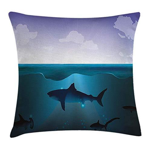 Underwater Pillow case Wild Sh...