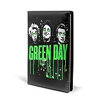 ブックカバー グリーンデー Green Day ノートカバー 文房具収納 対応 A5/ 新書/文庫/マンガ/ノートオフィス用品