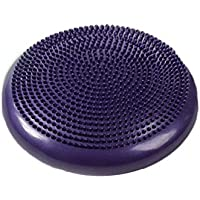 Flyme Inflated Stability Wobble Cushion Balance Disc Lumbar Support for Home Office Desk Chair Kids Alternative Classroom Sensory Wiggle Seat (Purple)