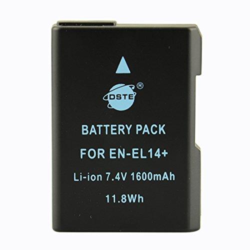 DSTE® アクセサリ Nikon EN-EL14 EN-EL14A 互換 カメラ バッテリー 対応機種 D3100 D3200 D3300 D5100 D5200 D5300 D5500