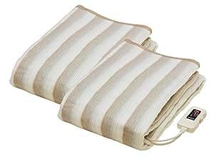 なかぎし 掛け敷き毛布 188×130cm NA-013K 2枚セット