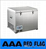 1 60 L 屋外コンプレッサ冷蔵庫冷凍庫ポータブル冷蔵庫 DC 12 V の電圧がかかっている冷蔵庫冷凍庫単一ドア冷蔵庫 (rapide 冷却 LLFA 726 のピース
