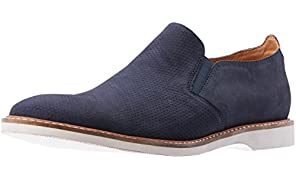 CROFT Men's Radcliffe Flat Loafers, Navy
