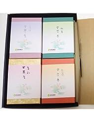 淡路梅薫堂 の 淡路島 ミニ寸線香 ご贈答用ギフトセット #k103 神仏お好み甘茶香
