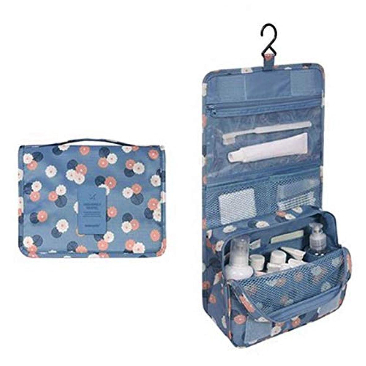 または寝具保持するWadachikis 例外的な女性ジッパーハンギング防水旅行トイレタリーの洗浄化粧品オーガナイザーバッグバッグ(None Picture Color)