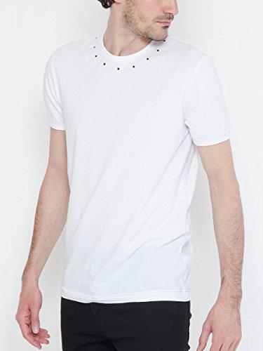 (ドルチェ&ガッバーナ) DOLCE&GABBANA ネックライン スタープリント 半袖 Tシャツ [DGN8C56JFUGHH] [並行輸入品]