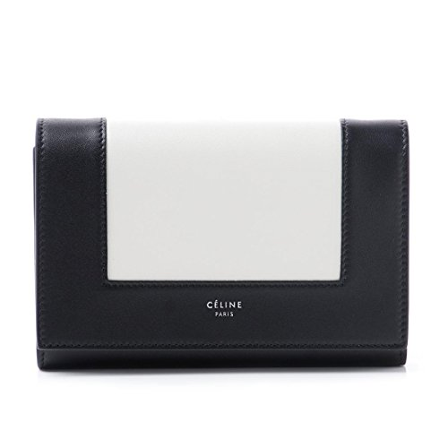 (セリーヌ) CELINE 三つ折り財布 小銭入れ付き FRAME フレーム Medium Multifunction [並行輸入品]