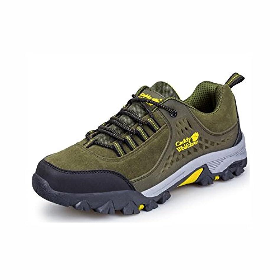 分岐する最大化する無駄にメンズハイキングシューズ、ローライズウォーキングシューズ、クライミングシューズ、アンチスリップランニングシューズ、アウトドア用安全靴、登山トレッキング,A,41