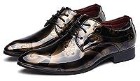 ビジネスシューズ メンズ 革靴 エナメル ウォーキング 紳士靴 カジュアル 結婚式 通勤 イングランド風
