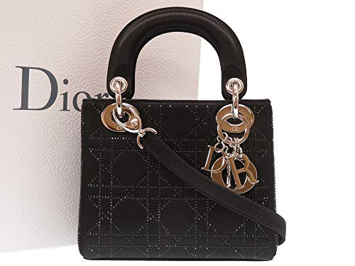 (クリスチャンディオール)Christian Dior レディディオール カナージュ 2WAY ハンドバッグ サテン レディース 0028 中古