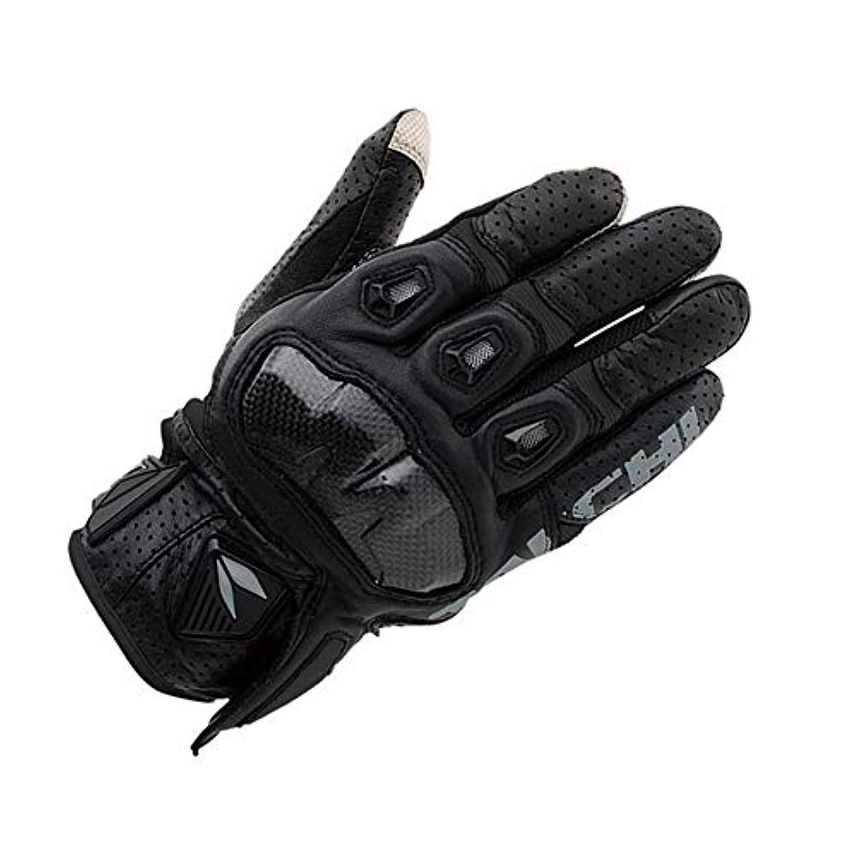 比較的崖ジョブAnnis6 防水オートバイグローブサイクリングレーシングアウトドアスポーツ (色 : 黒, サイズ : XL)