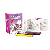 Peanuts: Be My Valentine, Charlie Brown Coloring Kit (Miniature Editions)