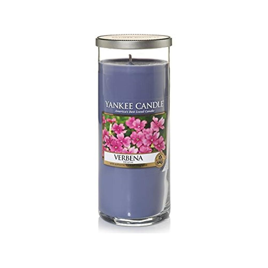 返還違うシエスタYankee Candles Large Pillar Candle - Verbena (Pack of 6) - ヤンキーキャンドル大きな柱キャンドル - バーベナ (x6) [並行輸入品]
