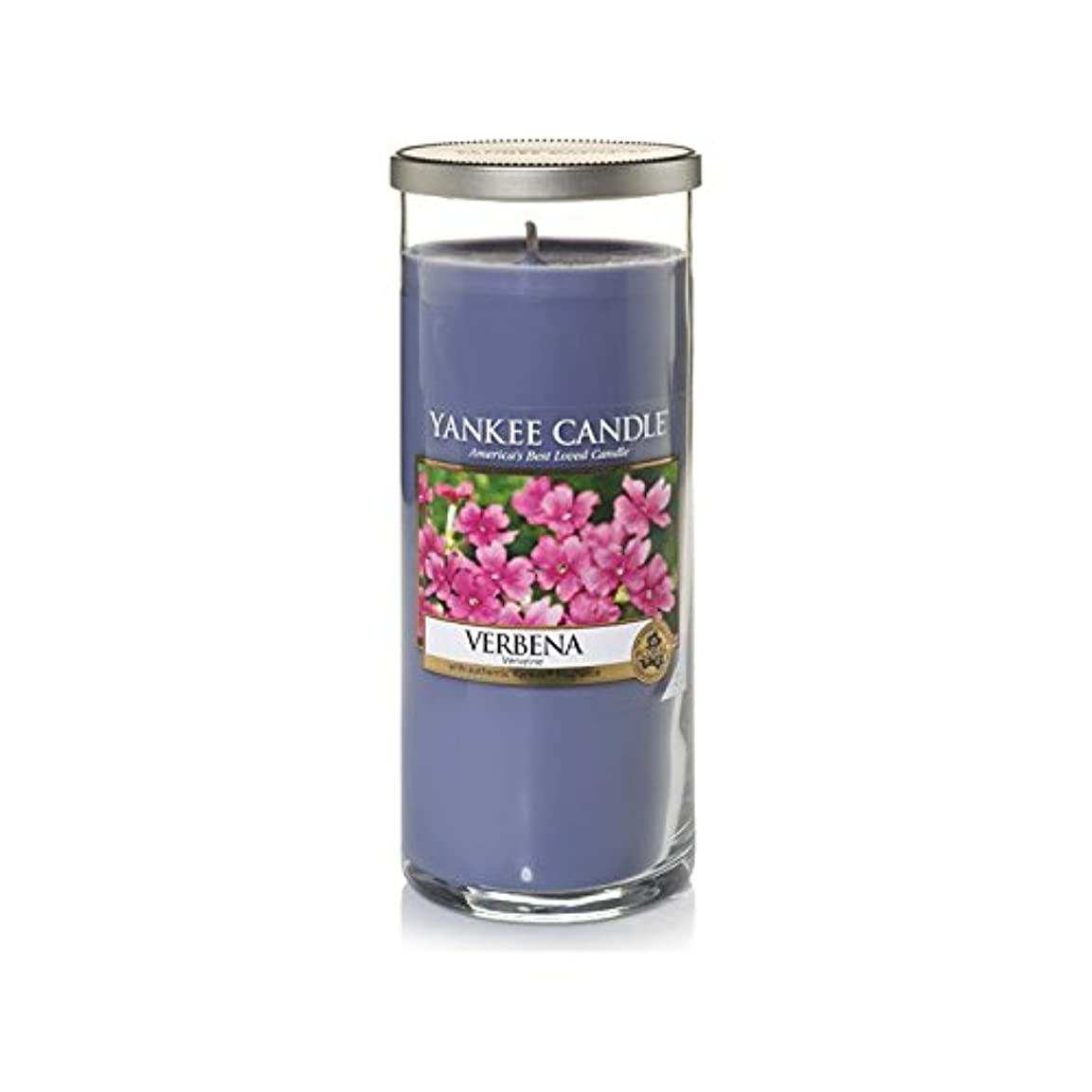 Yankee Candles Large Pillar Candle - Verbena (Pack of 2) - ヤンキーキャンドル大きな柱キャンドル - バーベナ (x2) [並行輸入品]