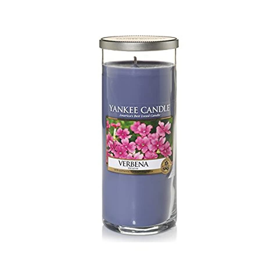 海賊無実午後ヤンキーキャンドル大きな柱キャンドル - バーベナ - Yankee Candles Large Pillar Candle - Verbena (Yankee Candles) [並行輸入品]