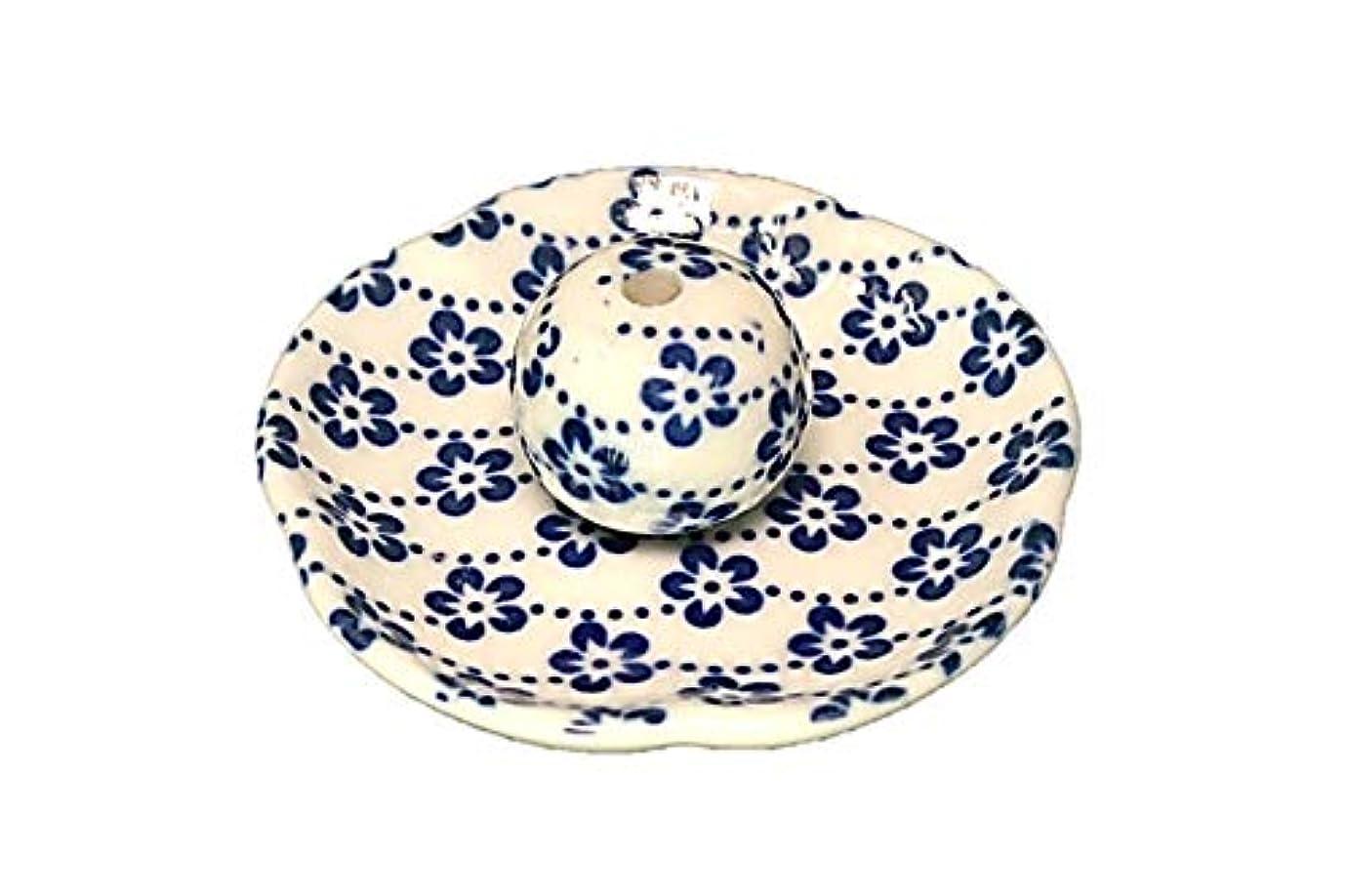 付き添い人陰謀オデュッセウス梅花 花形香皿 お香立て お香たて 日本製 ACSWEBSHOPオリジナル