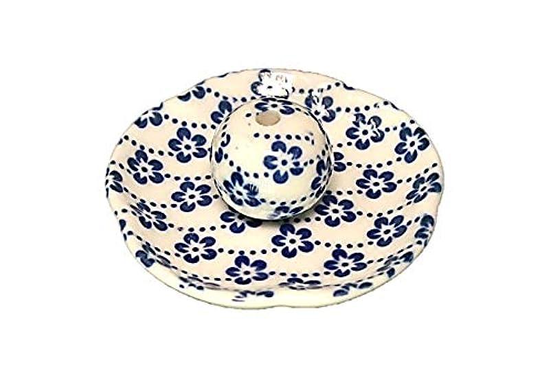 面積ドラム苦い梅花 花形香皿 お香立て お香たて 日本製 ACSWEBSHOPオリジナル