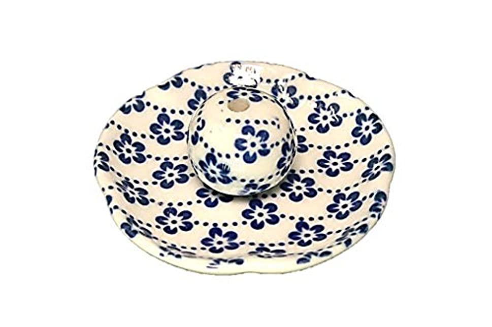第四不平を言う移民梅花 花形香皿 お香立て お香たて 日本製 ACSWEBSHOPオリジナル