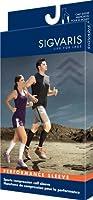 Sigvaris Performance Sleeve 412VX54 20-30mmHg Performance Calf Sleeve Compression Sock - Lime, XLarge [並行輸入品]